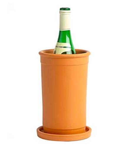 Wijnkoeler Terracotta